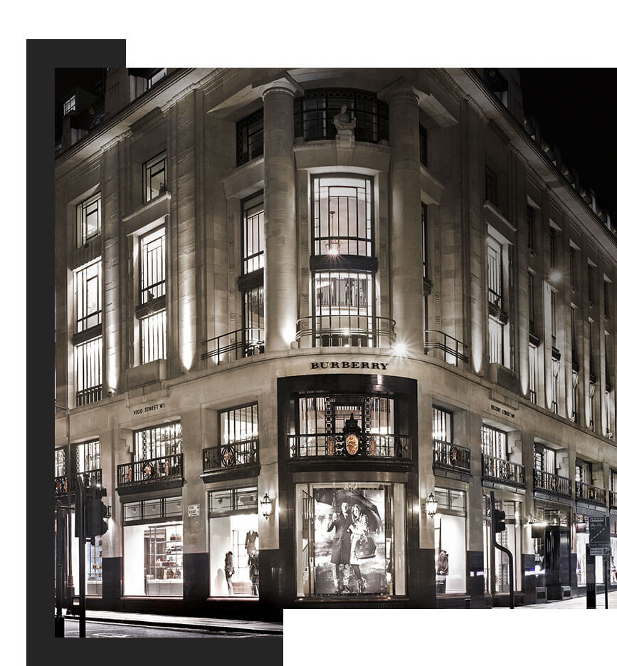 Scenting Burberry Flagship Store London
